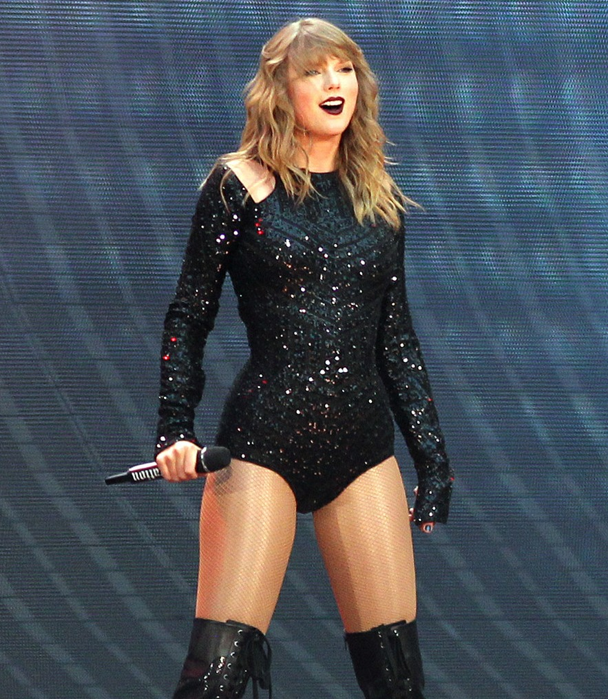 Taylor Swift performs on her Reputation World Tour at Wembley Stadium
