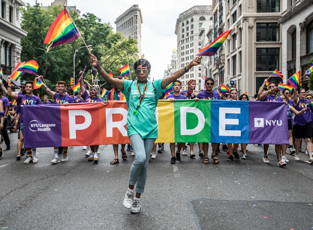 Pride Parade NYC 2018